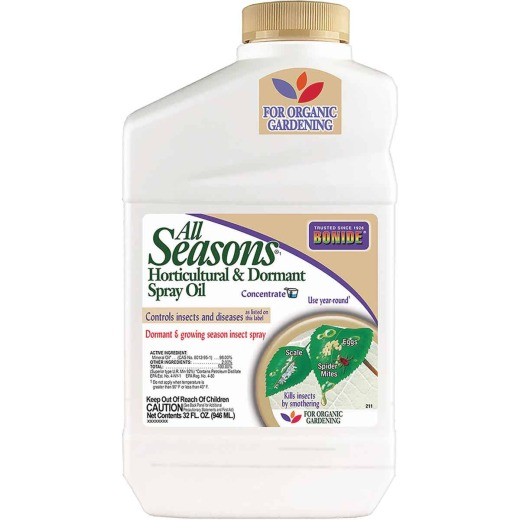 Bonide All Seasons 32 Oz. Concentrate Dormant Horticultural Oil