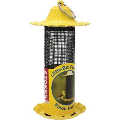 Stokes Select Little-Bit 9 In. 1/2 Lb. Capacity Finch Thistle Screen Feeder