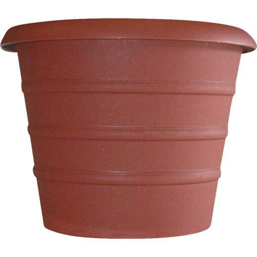 Myers Marina 12 In. Dia. Terracotta Poly Flower Pot