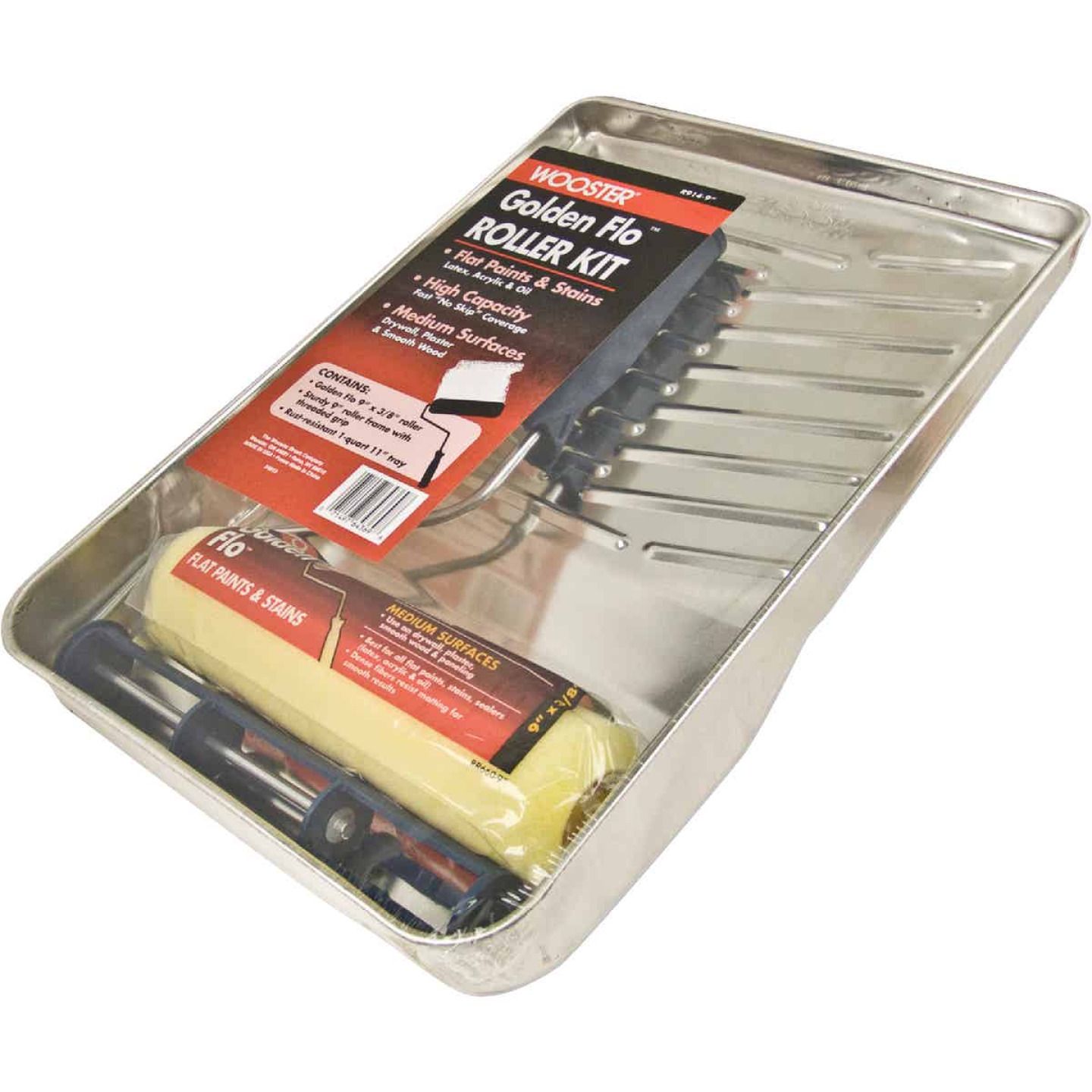 Wooster Golden Flo Roller & Tray Set (3-Piece) Image 1
