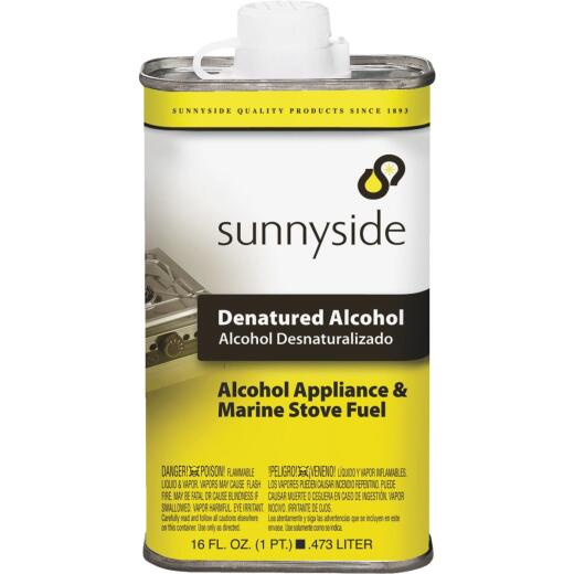 Sunnyside Denatured Alcohol Solvent, Pint