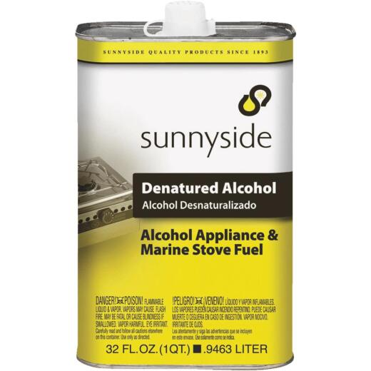 Sunnyside Denatured Alcohol Solvent, Quart