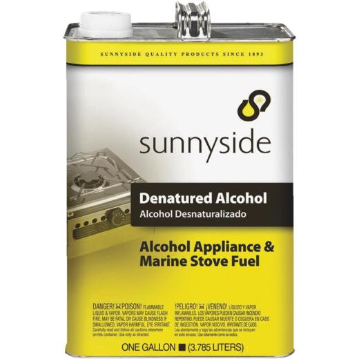 Sunnyside Denatured Alcohol Solvent, Gallon