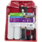Shur-Line Shur-Flow 9 In. 3/8 In. Knit Roller & Tray Set (9-Piece) Image 1