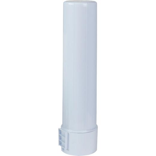 Rubbermaid White Plastic Water Jug Cup Dispenser