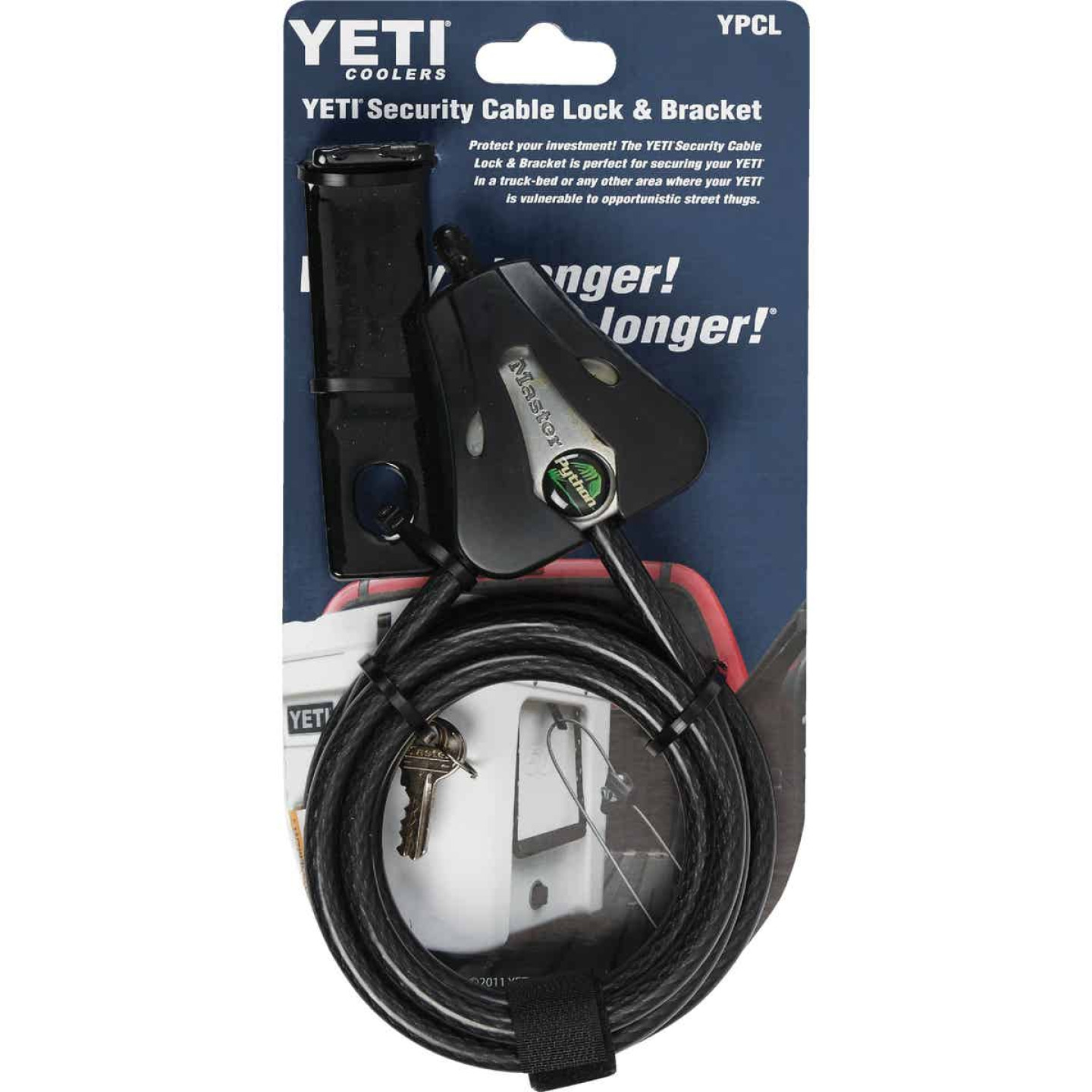 Yeti Carbon Steel 6 Ft. Security Cable Lock Image 3