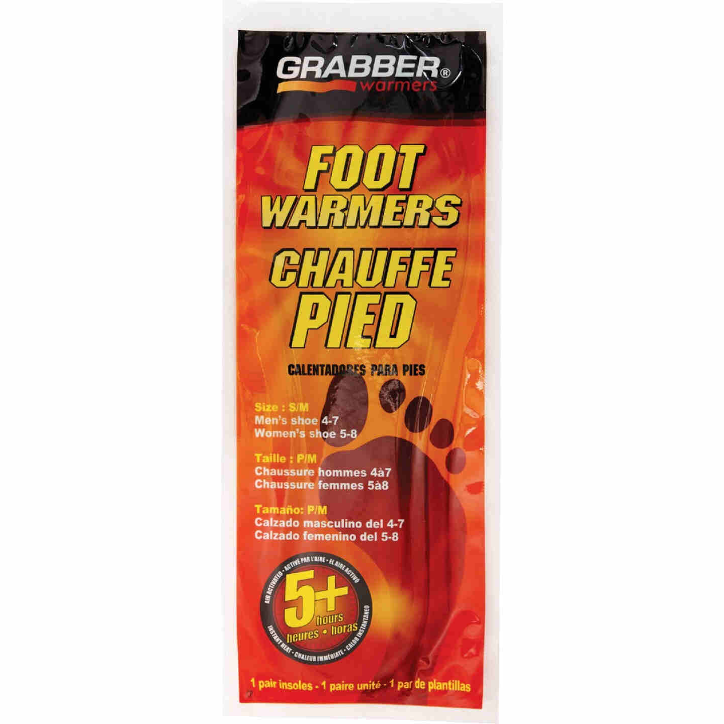 Grabber Small/Medium Foot Warmer Image 2