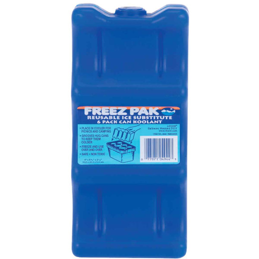 Lifoam Freez Pak 24 Oz. Blue Cooler Ice Pack