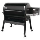 Weber SmokeFire EX6 Black 1008 Sq. In. Wood Pellet Grill Image 6
