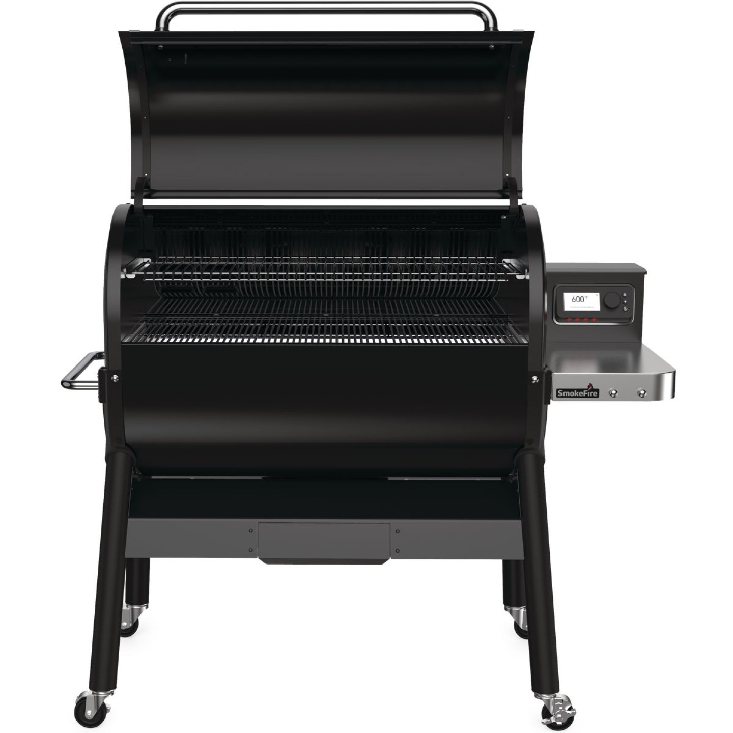 Weber SmokeFire EX6 Black 1008 Sq. In. Wood Pellet Grill Image 7