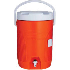 Rubbermaid 3 Gal. Orange Water Jug with Swing-Top Handle Image 3