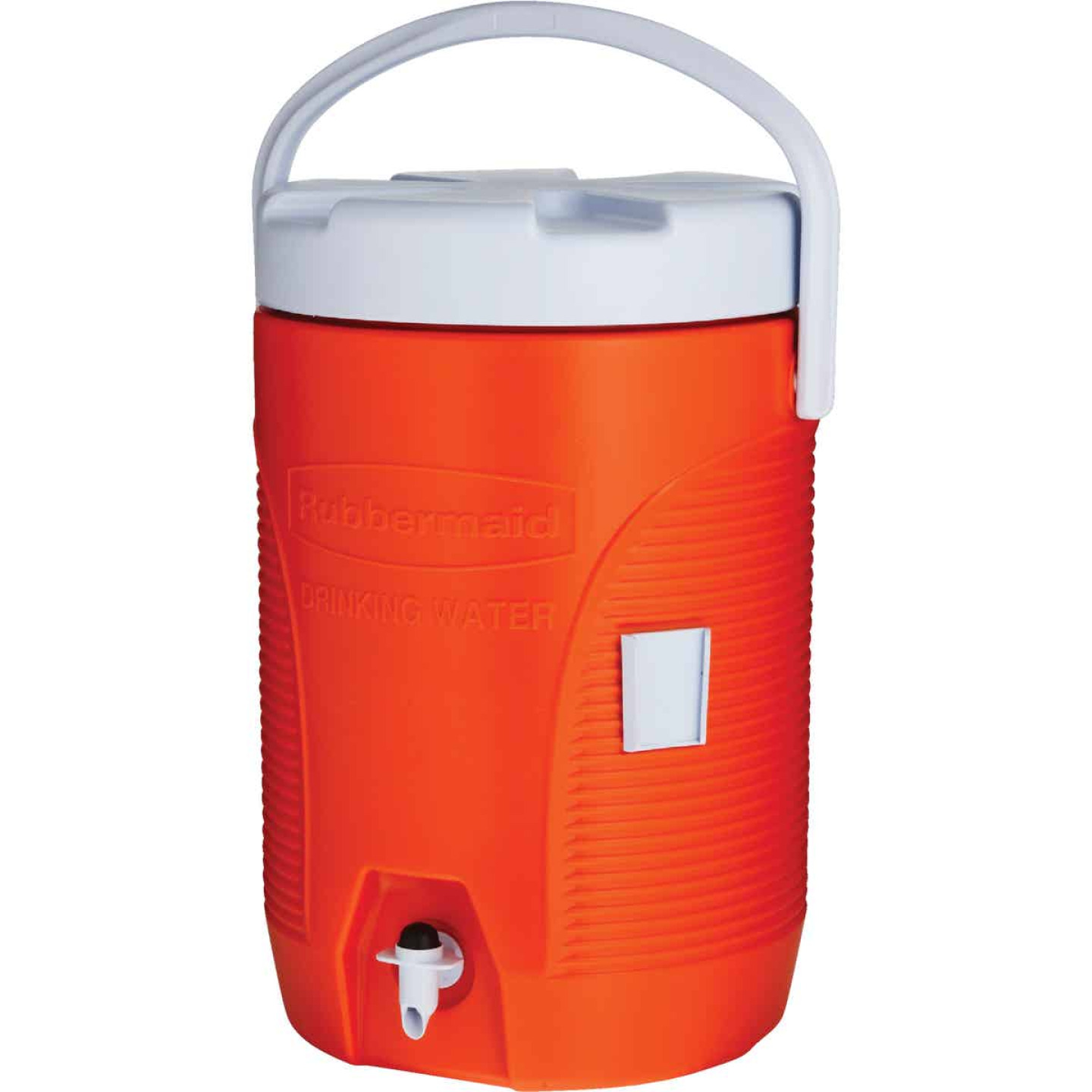 Rubbermaid 3 Gal. Orange Water Jug with Swing-Top Handle Image 4