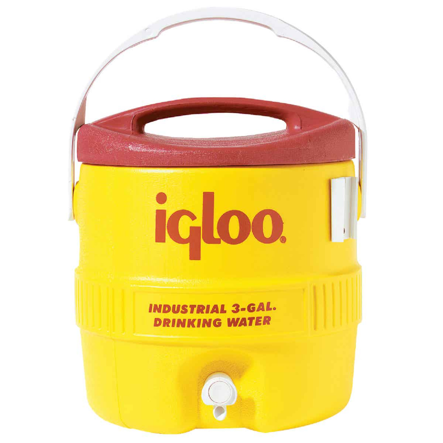 Igloo 3 Gal. Yellow Industrial Water Jug Image 1