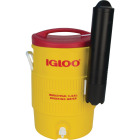 Igloo 5 Gal. Yellow Industrial Water Jug with Cup Dispenser Image 1