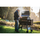 Traeger Ironwood 885 Black 38,000 BTU 885 Sq. In. Wood Pellet Grill with Pellet Sensor Image 2