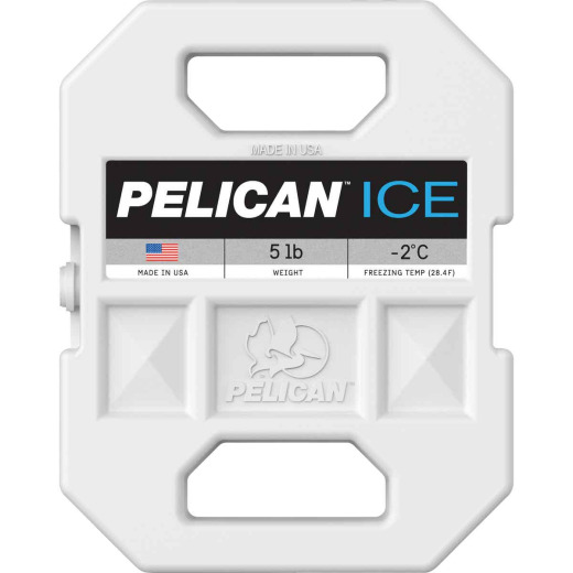 Pelican 5 Lb. 11 in. x 9 in. x 2 in. Cooler Ice Pack
